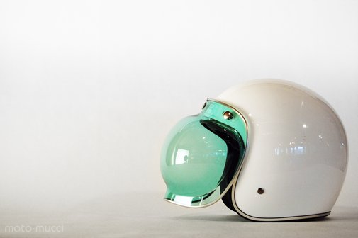 Helmet - Bell Custom w/ Bubble shield