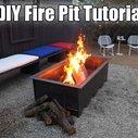 9 DIY Fire Pit Tutorials - SHTF, Emergency Preparedness, Survival Prepping, Homesteading