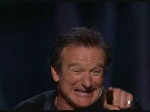 Robin Williams Live on Broadway - Biblical History - YouTube