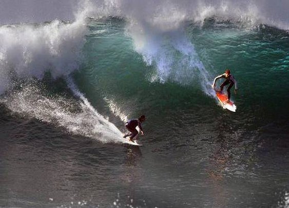 Hurricane Norbert Brings High Surf to California