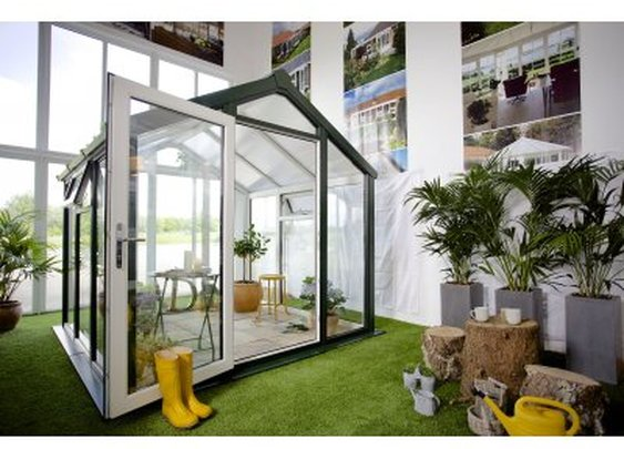 Nordic Scanline GH5 8x8 UPVC Greenhouse | Greenhouse Stores