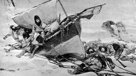 BBC News - Sir John Franklin: Fabled Arctic ship found