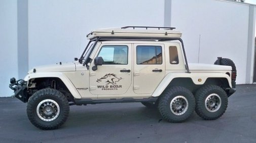 For sale: One slightly-used 6x6 Jeep