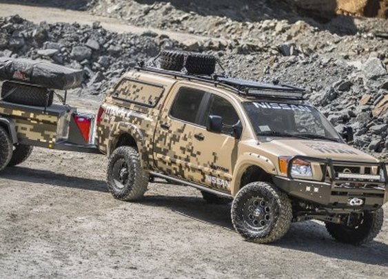 Nissan creates a rugged, Alaska-ready Titan Crew Cab camping package