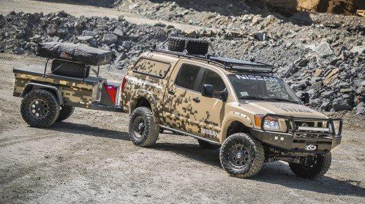 Nissan creates a rugged, Alaska-ready Titan Crew Cab camping package