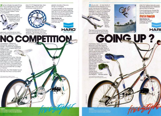 Haro Advertisements (1986)