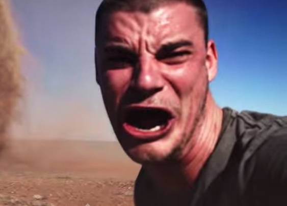 Dare Devil Runs Into Outback Tornado for a Quick Selfie  : American Preppers Network
