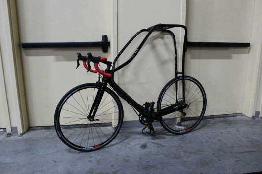 Rider-dangling bike enters limited production