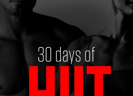 30 Days of HIIT (workout program for home)