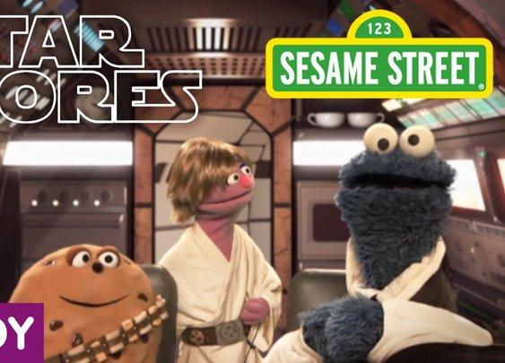 Sesame Street: Star S'Mores (Star Wars Parody) - YouTube