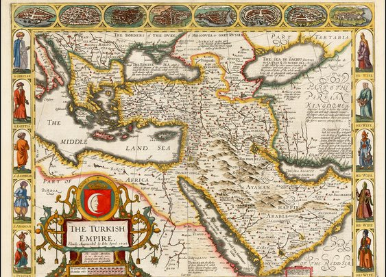 The Turkish Empire. Newly Augmented by John Speed.  1626  - Barry Lawrence Ruderman Antique Maps Inc.
