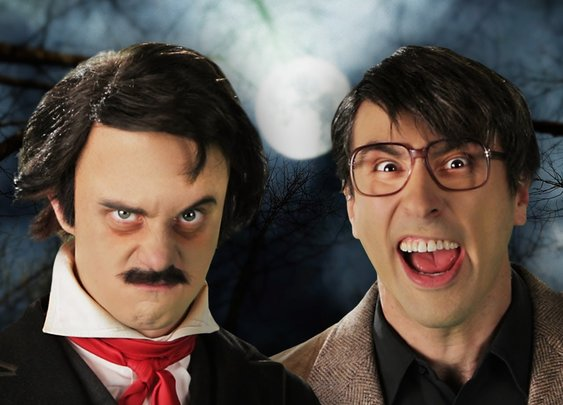 Stephen King vs Edgar Allan Poe. Epic Rap Battles of History Season 3. - YouTube