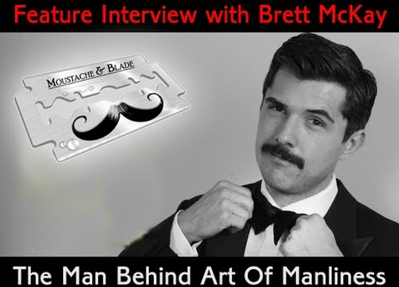 Wet Shaving Podcast - Moustache & Blade - Ep 30: Feature Interview with Brett McKay - YouTube