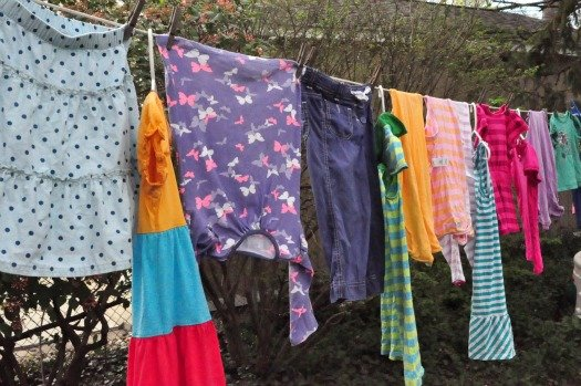 Tips for Hanging Out Laundry on the Clothesline