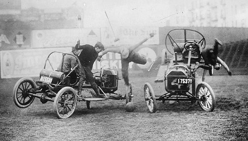 I Don't Understand Why Auto Polo Never Caught On, It Looks So Safe