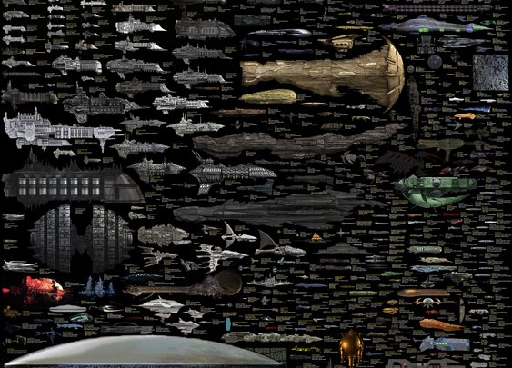 What The Nerdiest Chart of Sci-Fi Ships Says About Our Dreams of Space   But Not Simpler, Scientific American Blog Network