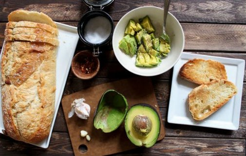 Avocado Garlic Toast Recipe  » iSeeiDoiMake