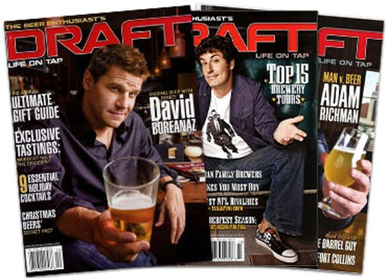 Free 1-Year Subscription to DRAFT Magazine