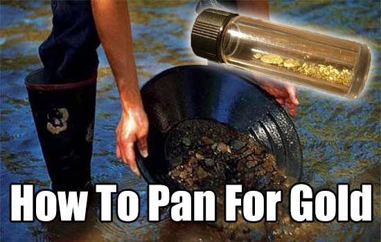 How to Pan For Gold - SHTF & Prepping Central