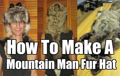 How To Make A Mountain Man Fur Hat - SHTF & Prepping Central