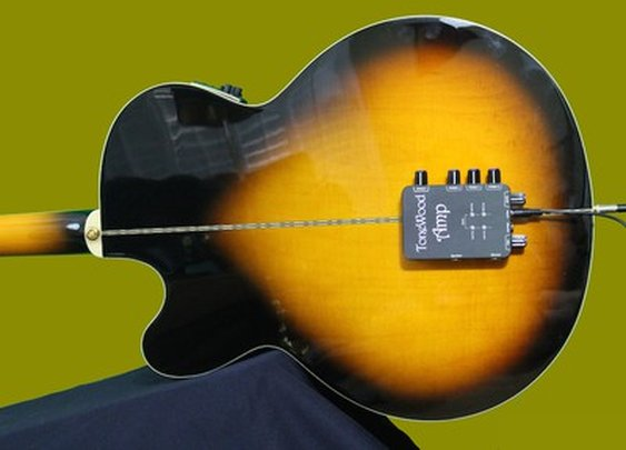 This gadget makes acoustic guitars sound electrifying without using an external amp
