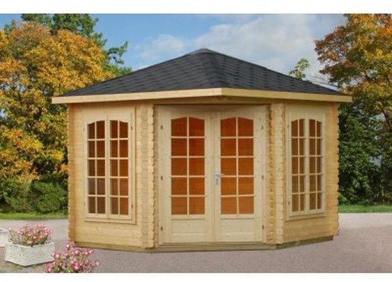 Palmako Melanie Log Cabin | Greenhouse Stores