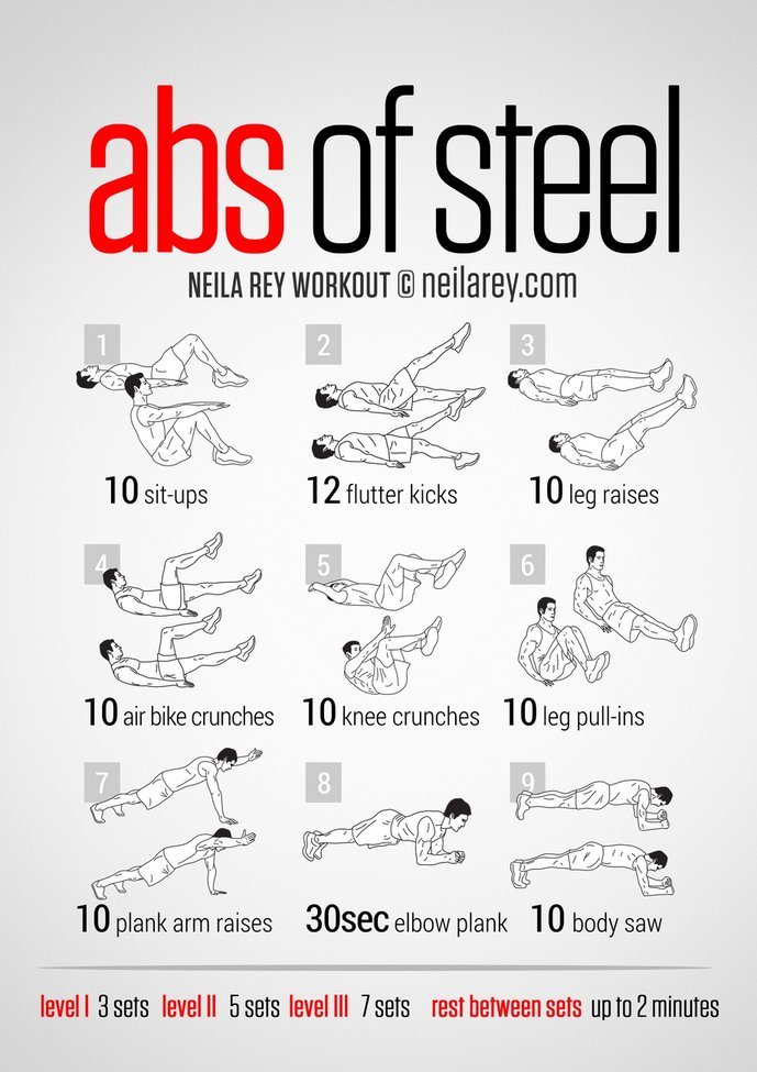 Abs of Steel Workout | Gentlemint