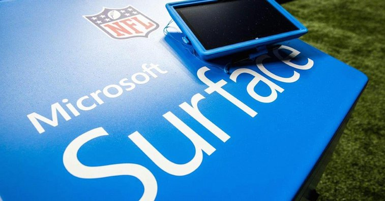 NFL announcers keep calling Surface tablet 'iPad'
