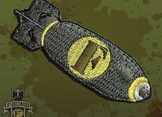 F-Bomb Morale Patch - Loaded Pocketz