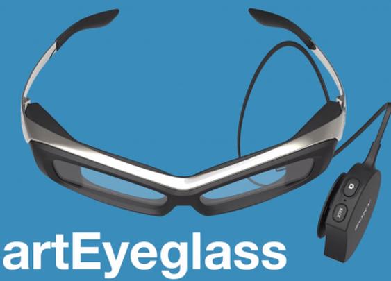 Sony's SmartEyeglass is a head-turning Google Glass alternative