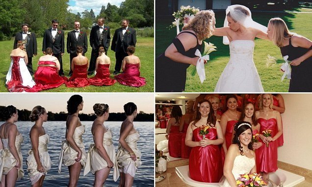 Weird weddings: A look at the most awkward bridesmaid ...