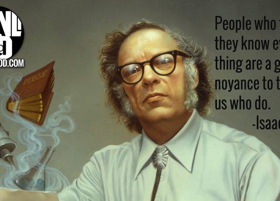 Isaac Asimov – #mancrushmonday