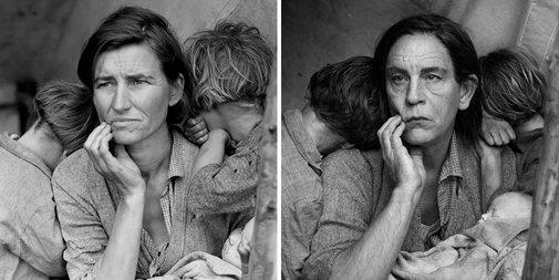 Photographer Recreates Famous Portraits With John Malkovich