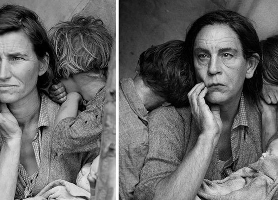Photographer Recreates Famous Portraits With John Malkovich
