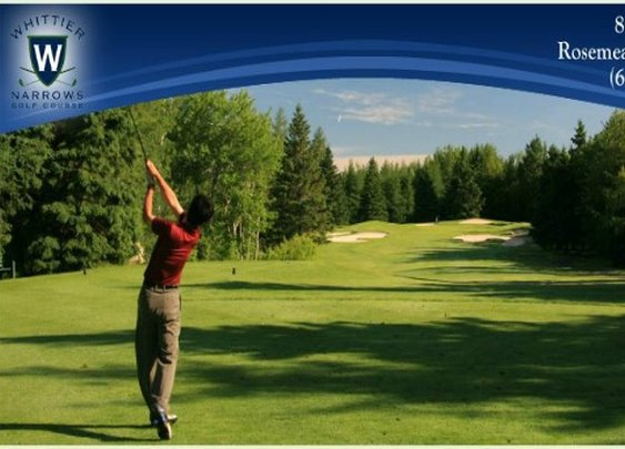 Whittier Narrows Golf Course Golf Deal by More Golf Today Golf Deals