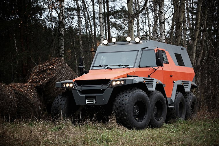 Avtoros Shaman 8x8 All-Terrain Vehicle @ HiConsumption