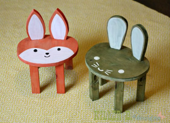 Toddler Sized Animal Stool Tutorial » iSeeiDoiMake