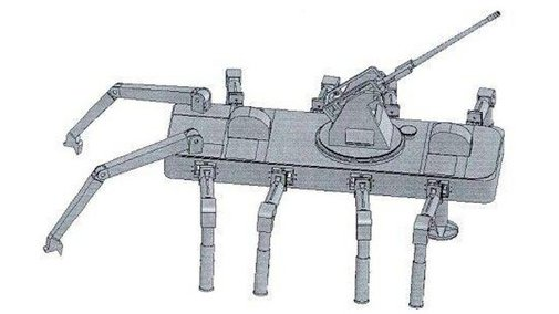 China's Next Tank Could Be This Weaponzied Robotic Spider