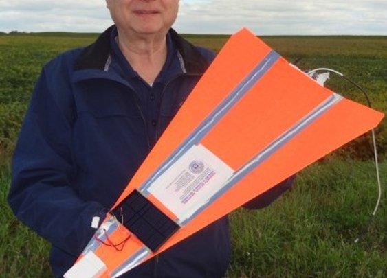 US team breaks Guinness World Record for highest paper airplane flight