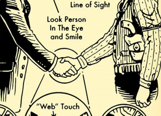 How to Shake Hands: An Illustrated Guide   The Art of Manliness