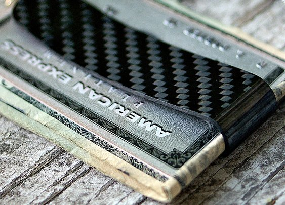 Fuego Carbon Fiber Money Clip - Vvego