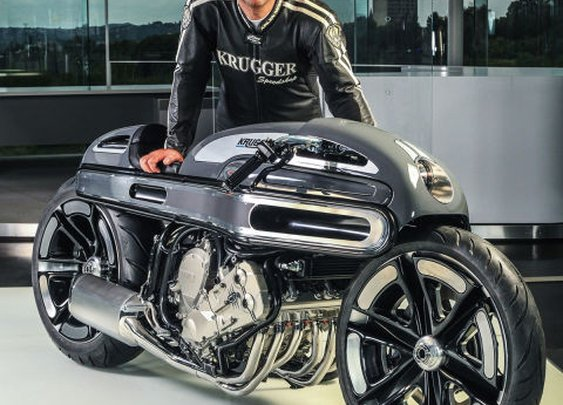 Krugger hits the BMW K1600 for six