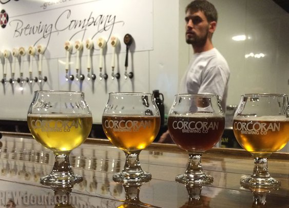 A Pleasant Impromptu Visit to Corcoran Brewing Co » Loudon County VA Breweries | Distilleries and Cideries