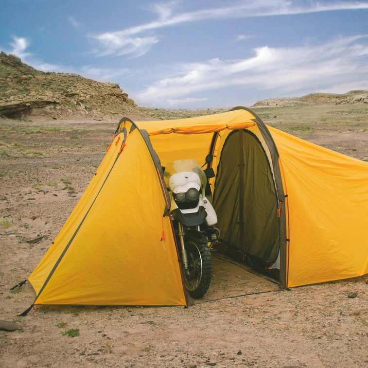 The Ultimate Motorcycle Tent For You to Crash In - Redverz Series II Expedition Motorcycle Tent - Supercompressor.com - Supercompressor.com