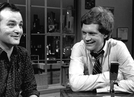 How Bill Murray Went Missing During Letterman's First Episode