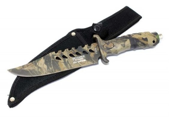 10.5″ Camouflage Hunting Knife  | Buy Agora
