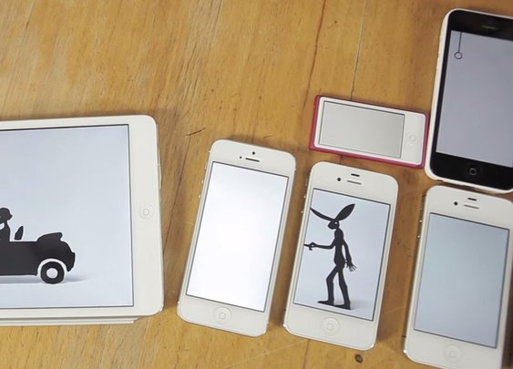 Clever Music Video Plays Out on 14 Apple Gadgets