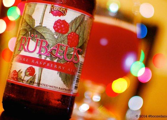 Beer Review Poetry – Founders Rübaeus
