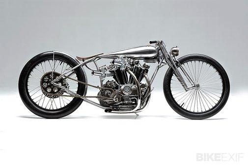 Hazan Motorworks Harley Ironhead   Bike EXIF