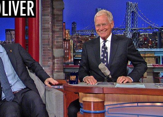 John Oliver Explains How English Soccer Works to David Letterman
